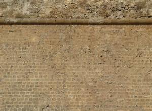 Venetian city walls texture